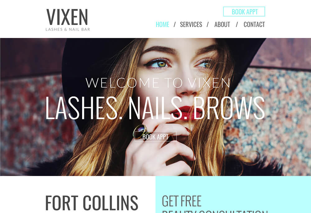 VIXEN LASHES & NAIL BAR
